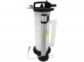 Ölabsaugpumpe Druckluft mit Handpumpe