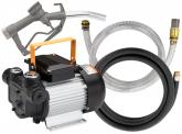 Dieselpumpe selbstansaugend, 2m Saugschlauch, Zapfpistole, 6m Druckschlauch