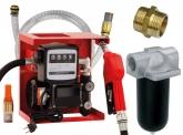 Dieselpumpe 230V komplett, 2m Saugschlauch, Dieselfilter
