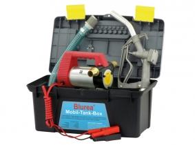 Mobile Tankstellen Box, Dieselpumpe 12V 40l/min