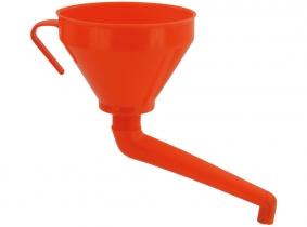 Trichter mit Winkelauslauf & Sieb 160mm / 1,3 Liter