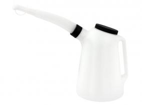 Messkanne mit flex. Auslauf & Deckel 4,0 Liter